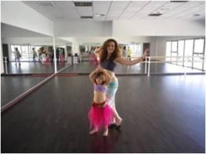 danza oriental para niñas